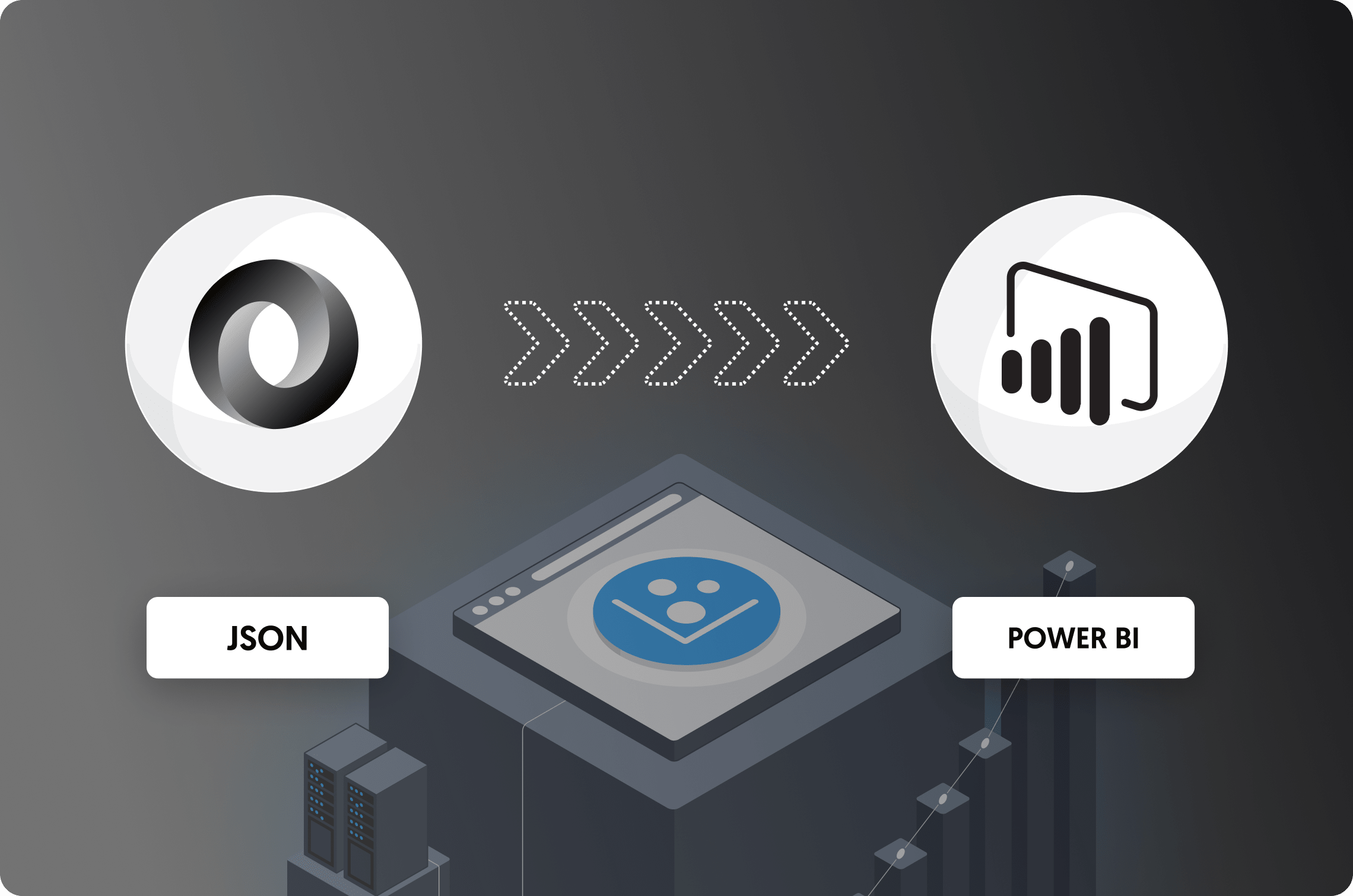 How to connect JSON with Power BI: Direct vs. Dataddo